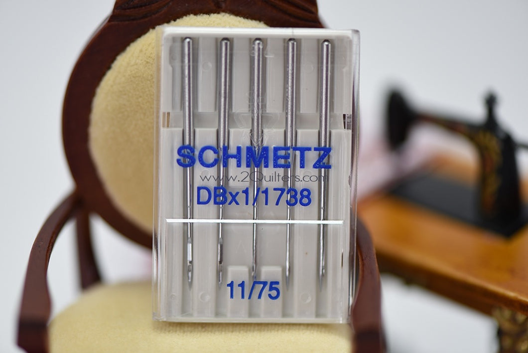 SCHMETZ DBx1 SES Jersey Round Shank Sewing Machine Needles (5pc pack)