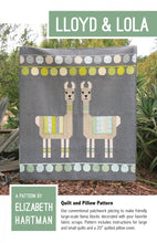 Load image into Gallery viewer, Quilt Pattern: Lloyd & Lola by Elizabeth Hartman