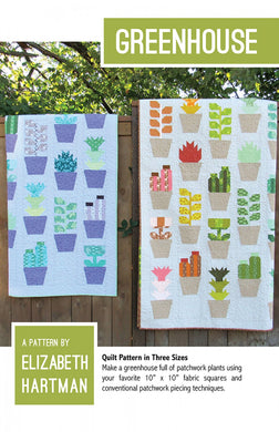 Quilt Pattern: Greenhouse by Elizabeth Hartman