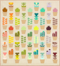 Load image into Gallery viewer, Quilt Pattern: Greenhouse by Elizabeth Hartman