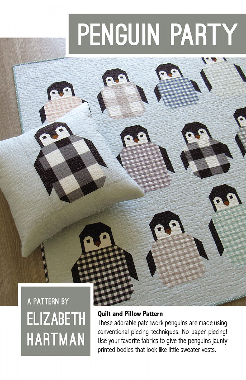 Quilt Pattern: Penguin Party by Elizabeth Hartman