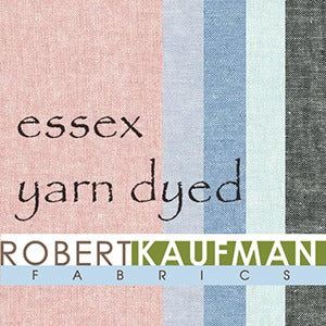 Essex Yarn Dyed - Fat Quarter, Choose 4 per set