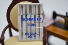 Load image into Gallery viewer, SCHMETZ Jeans (130/705 H) Sewing Machine Needles (5pc pack)