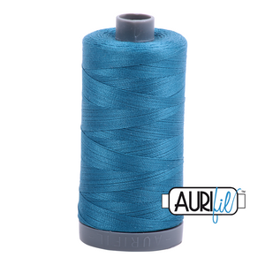 Aurifil 28wt Thread - Medium Teal #1125