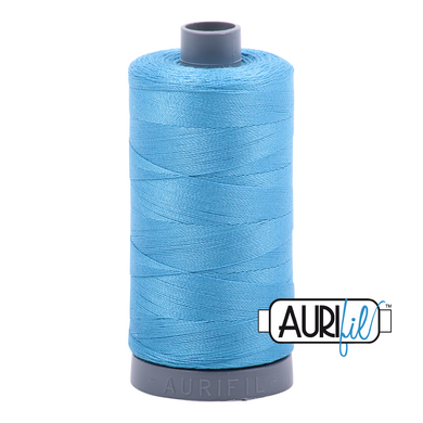 Aurifil 28wt Thread - Bright Teal #1320