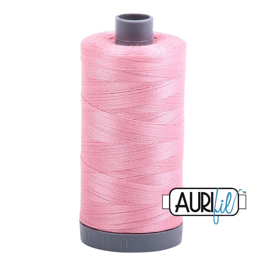 Aurifil 28wt Thread - Bright Pink #2425