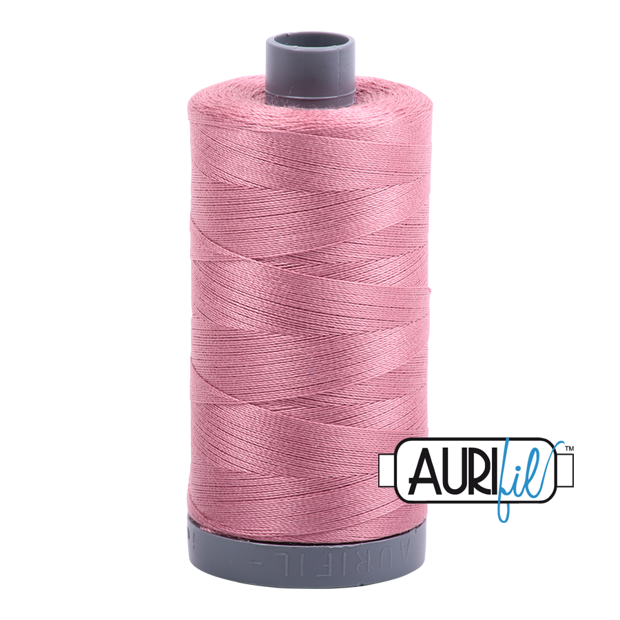 Aurifil 28wt Thread - Victorian Rose #2445