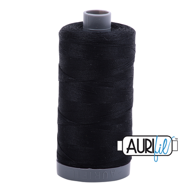 Aurifil 28wt Thread - Black #2692