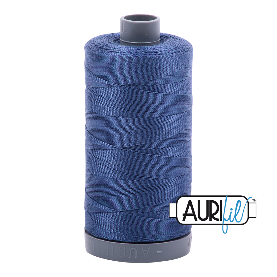 Aurifil 28wt Thread - Steel Blue #2775