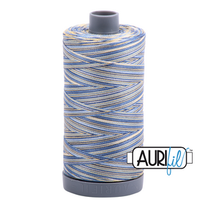 Aurifil 28wt Thread - Lemon Blueberry - Variegated #4649