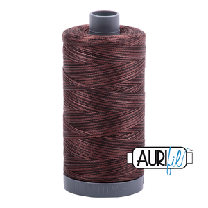 Aurifil 28wt Thread - Mocha Mousse - Variegated #4671