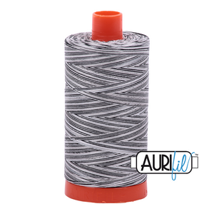 Aurifil 50wt Thread - Large spool Licorice Twist - Variegated #4652