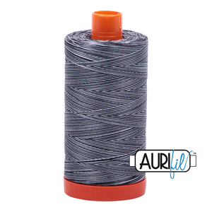 Aurifil 50wt Thread - Large spool Stonefields - Variegated #4664