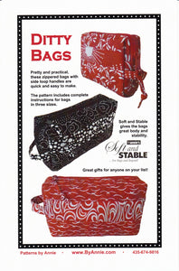 Ditty Bags, Patterns by Annie