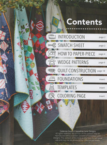 Cadence Court Pattern Book from Sassafras Lane Designs