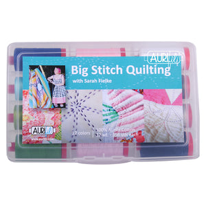 Aurifil Collection: Large Thread Box - Big Stitch Quilting by Sarah Fielke