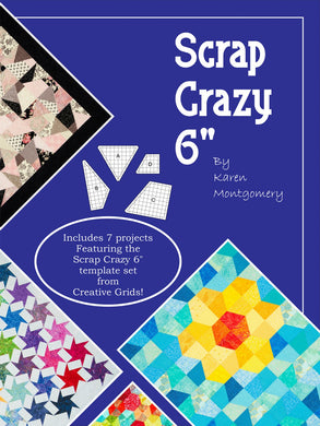 Scrap Crazy 6 - Companion Pattern Book