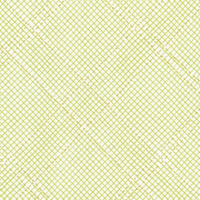 Load image into Gallery viewer, Collection CF, Tartan Single Border in Green (Gold Metallic), per half-yard