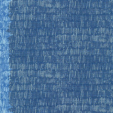 Harriot, Screen Single Border in Blue, per half-yard