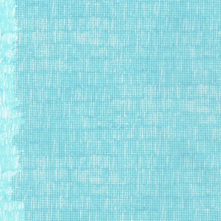 Harriot, Screen Single Border in Aqua, per half-yard