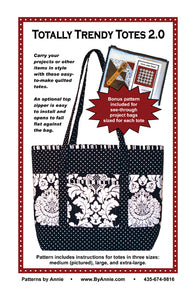 Totally Trendy Totes 2.0, Patterns by Annie