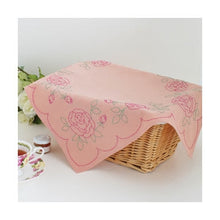 Load image into Gallery viewer, Olympus #SK-287 Japanese Sashiko Luncheon Mat Kit - Rose Border
