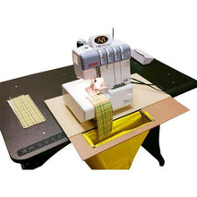Load image into Gallery viewer, Martelli No Slip Serger Machine Pad Includes Scrap Bag