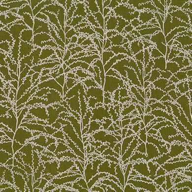 Winter Shimmer, Holly Branches, per half-yard (with Metallic Accents)