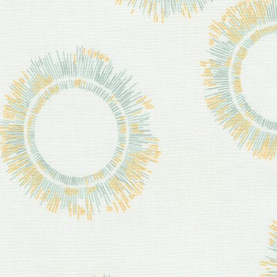 Winter Shimmer, Fog Circles, per half-yard (with Metallic Accents)