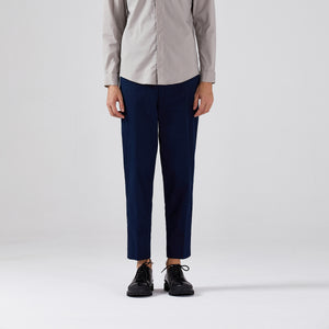 D-Buckle Ankle Length Trousers