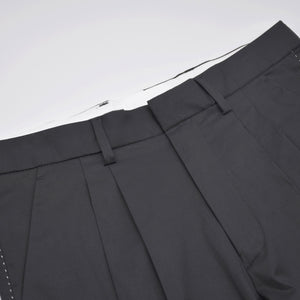Contrast Pick Stitch Trousers