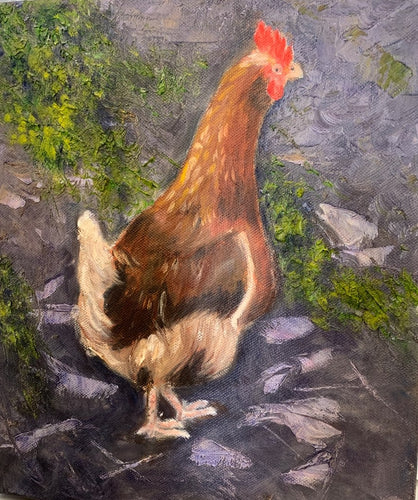 Lone Chook - Marguerite Abbot
