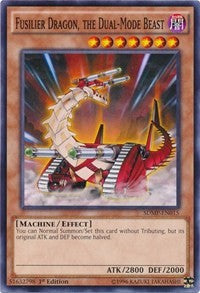 Fusilier Dragon, the Dual-Mode Beast [Structure Deck: Master of Pendulum] [SDMP-EN015] - Card Brawlers | Card Brawlers