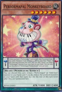 Performapal Monkeyboard [Breakers of Shadow] [BOSH-EN003] - Card Brawlers | Card Brawlers