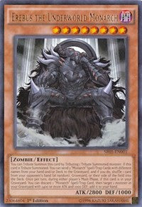 Erebus the Underworld Monarch [Structure Deck: Emperor of Darkness] [SR01-EN001] - Card Brawlers | Card Brawlers