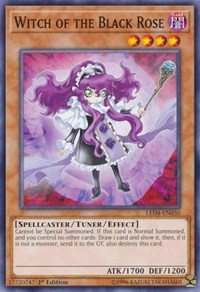 Witch of the Black Rose [Legendary Duelists: Sisters of the Rose] [LED4-EN030] - Card Brawlers | Card Brawlers