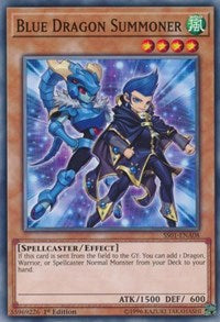 Blue Dragon Summoner [Speed Duel Decks: Destiny Masters] [SS01-ENA08] - Card Brawlers | Card Brawlers