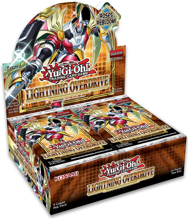 Yu-Gi-Oh! Lightning Overdrive Booster Box (PREORDER) May 14, 2021 - Card Brawlers | Quebec | Canada | Yu-Gi-Oh! | Card Brawlers