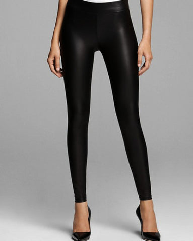 Signature Vegan Leather Leggings