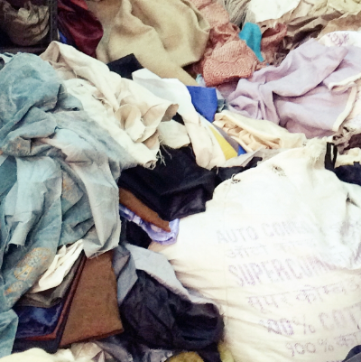 Common Texture Blog | Surplus fabric - a byproduct of mass production