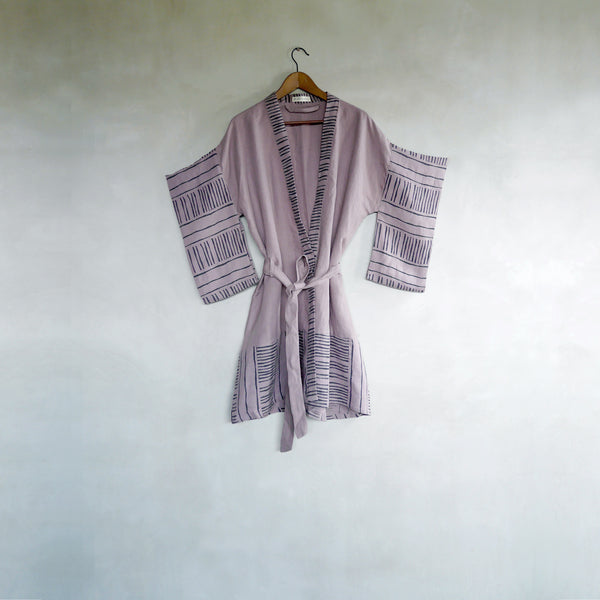 Gift set | Bamboo Robe + Earrings