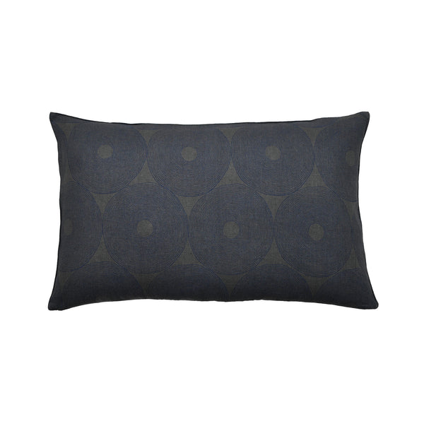 Midnight Geometry linen cushion covers | set of 3