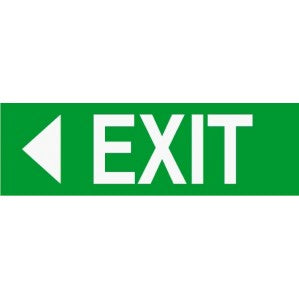 EM50 Signs of safety Exit sign