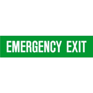 EM53 Signs of safety Emergency Exit sign