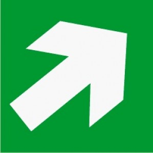 EM54 Signs of safety Emergency Exit Only sign