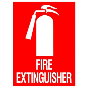 EM65 Signs of Safety Fire Extinguisher signs