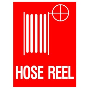 EM74 Signs of Safety Hose Reel