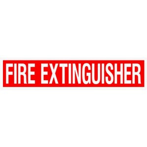 EM82 Signs of Safety Fire Extinguisher signs
