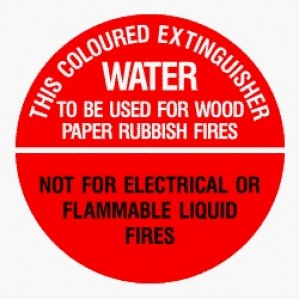 EM83 Signs of Safety Water Sign