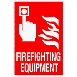 EM89 Signs of Safety Fire Fighting Equipment signs